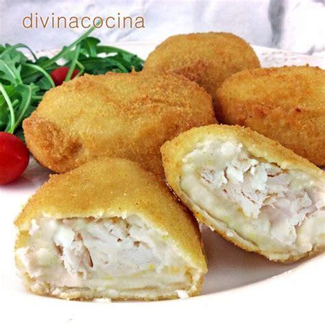 divina cocina recetas receta de pechugas con bechamel recetas pinterest
