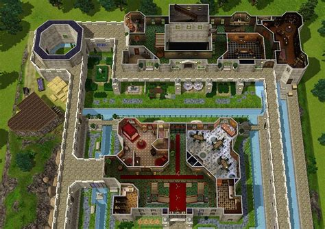 Free Floor Plan Creator For Pc mod the sims zelda castle inspired by ocarina of time