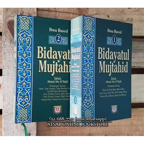 Buku Murah Bidayatul Mujtahid Wa Nihayatul Muqtashid Jilid 1 bidayatul mujtahid
