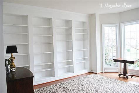 bookcase built into wall diy built in custom bookshelves ikea billy bookcases