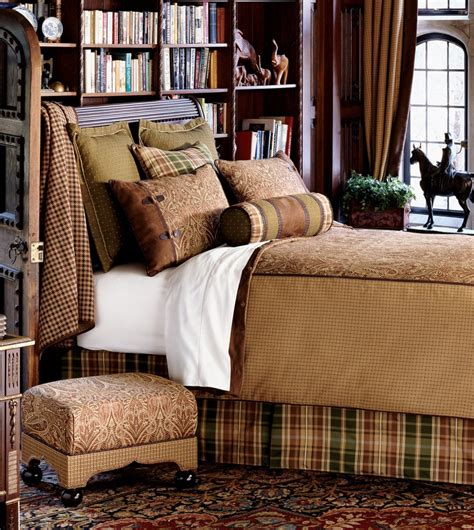 plaid bedroom ideas masculine bedroom books behind the bed workable