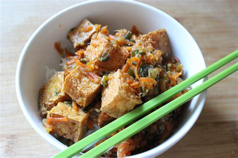ginger fried tofu these things i love