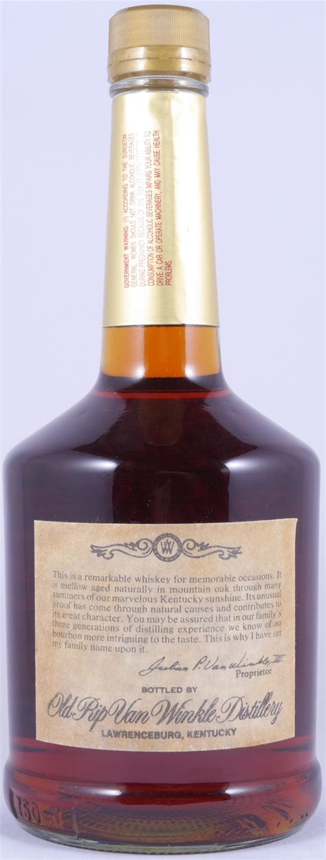 Rip Winkle Handmade Bourbon - buy rip winkle 10 years handmade kentucky