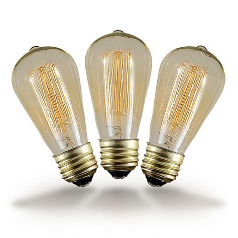 old style light bulbs buy 25w st64 vintage edison style filament bulbs novelty