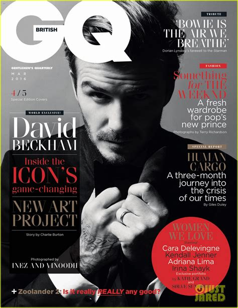 Beckham Is Magazines Of The Year by David Beckham Sports 5 Different Looks For Gq