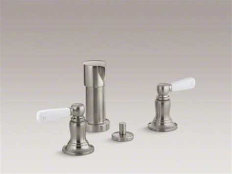 Kohler Bidet Faucet by Kohler Bancroft R Vertical Spray Bidet Faucet With White