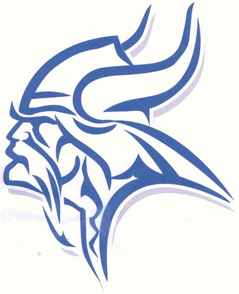 Blue Viking by Blue Viking College Logo Related Keywords Blue Viking
