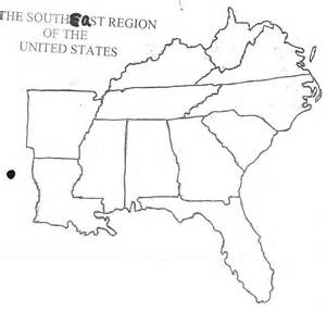 blank map of southeastern united states states and capitals mr donahue mckelvie intermediate