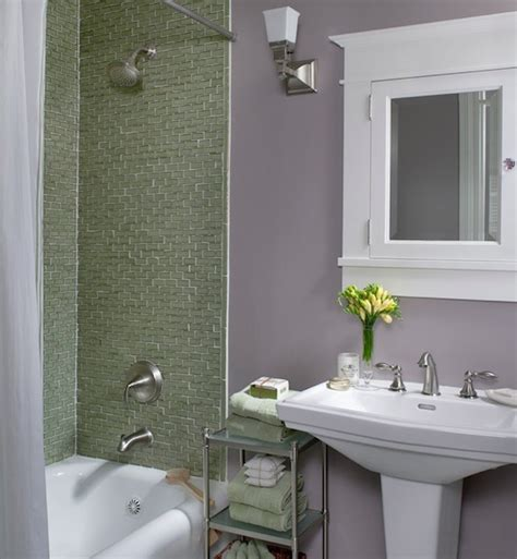colorful ideas to visually enlarge your small bathroom - Small Bathroom Design Ideas Color Schemes