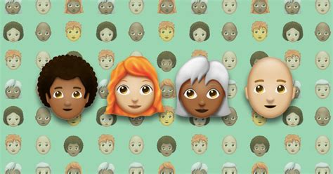 hairstyles emoji your hairstyle may be getting its very own emoji soon