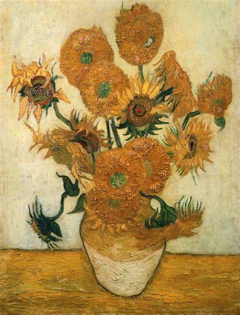 van gogh sonnenblumen keilrahmenbild auf leinwand ebay vierzehn sonnenblumen in einer vase vincent van gogh als