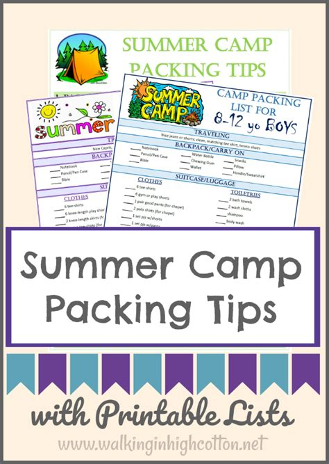 3 Tips To Using Packaging - how to pack for overnight summer c with free