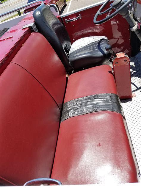 truck upholstery repair fire truck upholstery repairs auto styles