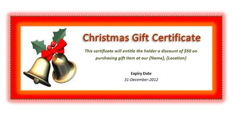 search results for full page holiday gift certificate
