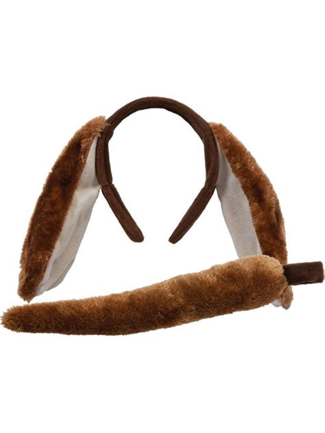 puppy ears headband puppy plush set ears headband fancy dress dressing up animals new buy