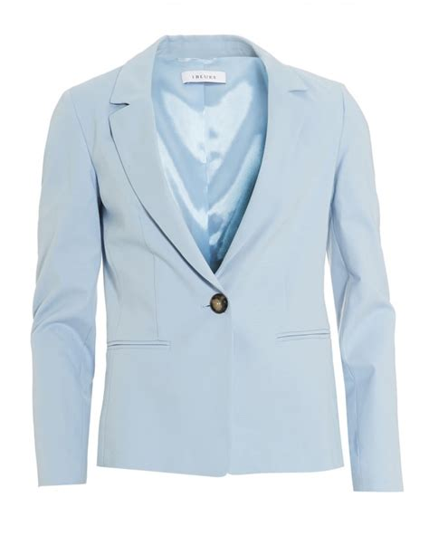 light blue suit jacket womens iblues womens olio jacket otterman light blue blazer jacket