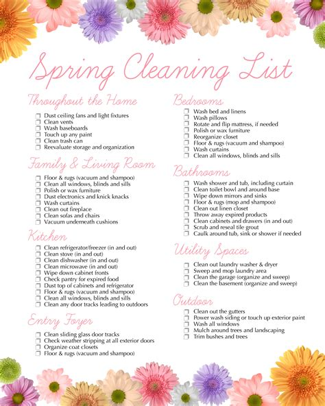 Home Decorating Ideas On A Budget spring cleaning free printable how to nest for less