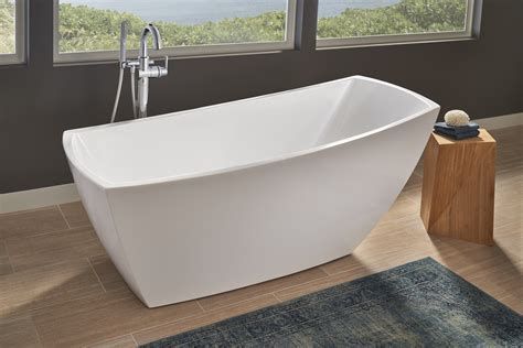 bathtub soaking jacuzzi stella soaker tub makes a freestanding statement