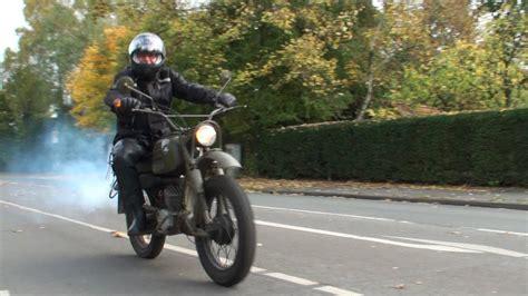 Bundeswehr Motorrad Kaufen by Motorradtour Mit Der Hercules K125 Bw