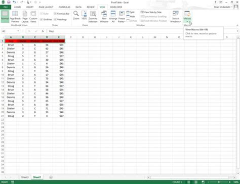 layout editor macro how to edit macros in excel s visual basic editor dummies