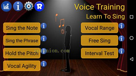 the voice apk free voice learn to sing app free