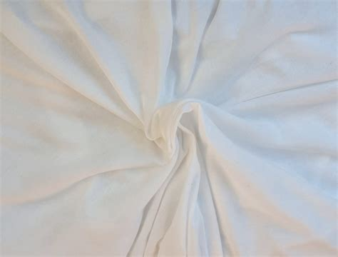 100 organic cotton jersey knit fabric white organic cotton fabric jersey knit eco friendly by