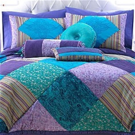 New Seventeen Crystal Violet 6pc Twin Comforter Set W Seventeen Bed Sets