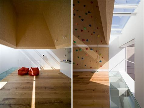 home climbing wall plans modern homes featuring a rock climbing wall