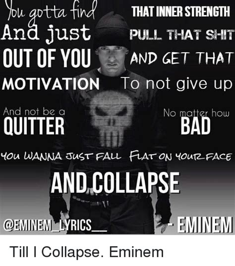 eminem till i collapse lyrics 25 best memes about till i collapse till i collapse memes