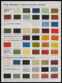 1956 chevy paint chip chart all original colors auto paint colors codes paint