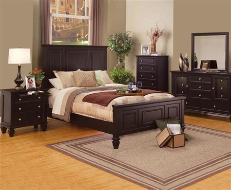 Sandy Beach Bedroom Collection | sandy beach espresso bedroom collection