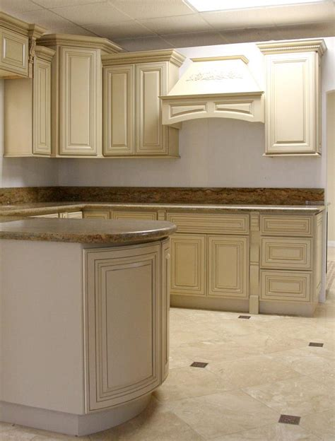 antique painted kitchen cabinets paint and glaze cabinets house of style pinterest