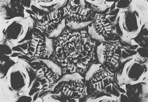 skull pattern wallpaper tumblr art background background skull black black and white