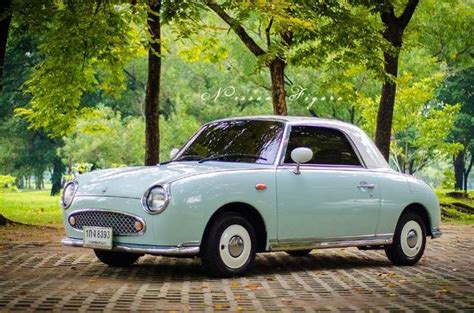 nissan figaro mint green 1000 ideas about nissan figaro on nissan