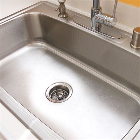 Removing Kitchen Sink How To Clean Your Stainless Steel Sink Popsugar Smart Living