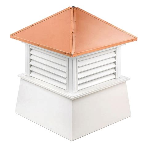 directions manchester vinyl cupola with copper roof