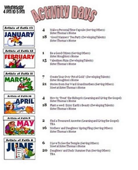 activity day ideas great ideas lds activity