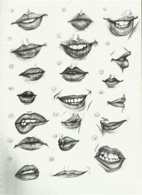 tattoo inspiration sketches different kinds of woman s lips to draw tattoo
