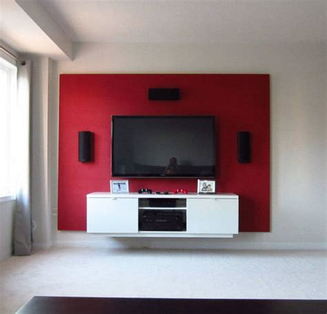 Floating Shelf Tv Stand by Diy Floating Wall How To Build A Bachelor Pad Tv Stand