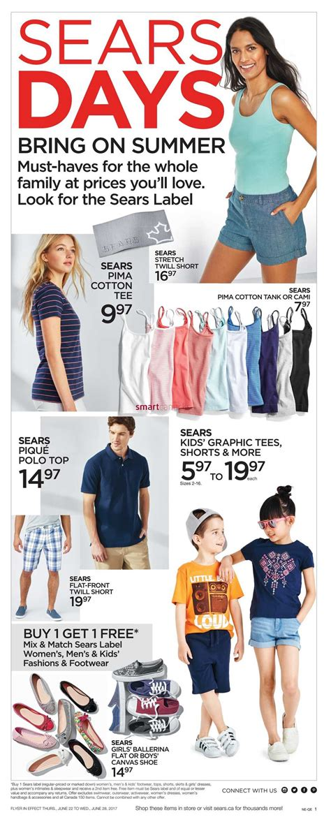 Sears Canada Gift Card - sears flyer september 28 october 1 2017 canada flyers autos post