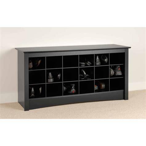 prepac shoe storage cubbie bench prepac shoe storage cubbie entryway bench ebay