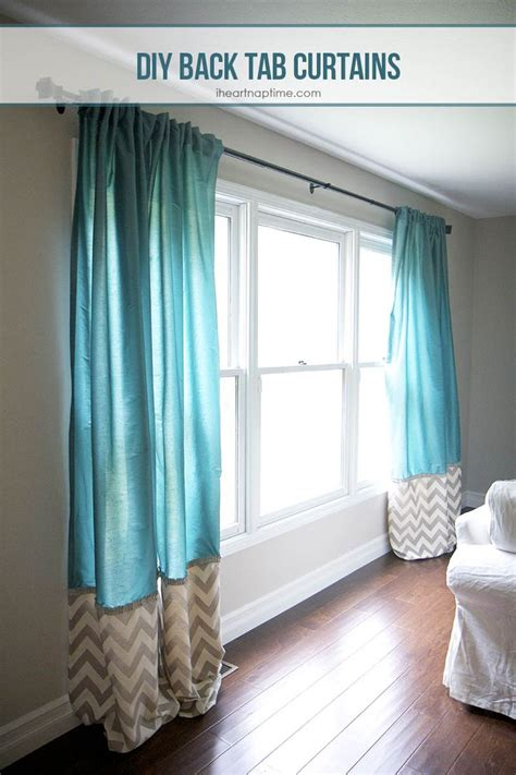 draperies for less diy back tab curtains nap times tab curtains and for less