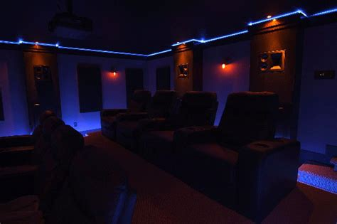 led lighting  home theatre action packed home