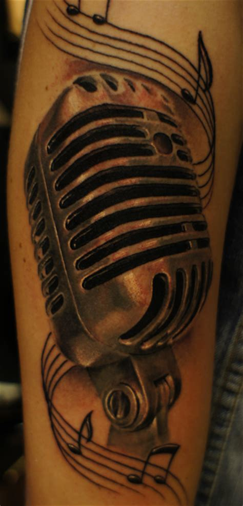 tattoo old school microphone oldschool mic by strangeris on deviantart
