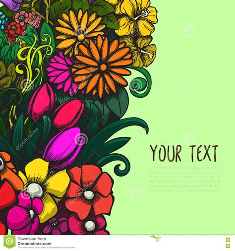 Beautiful Project by Beautiful Bright Vector Design With Colorful Floral
