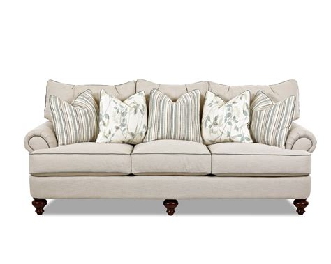 traditional rolled arm sofa traditional upholstered sofa with t shaped down cushions