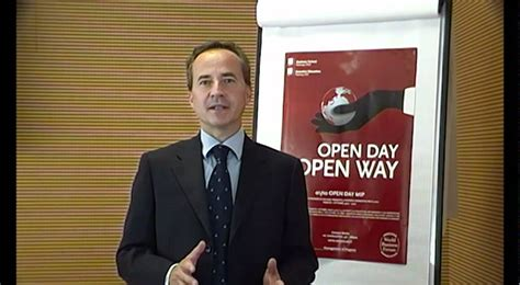 Mba Open Day by Prof A Portioli Executive Mba Open Day Mip Crescita