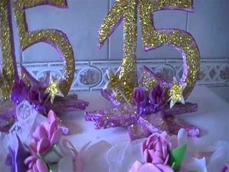 adornos de 15 aos souvenirs de 15 a 241 os y adornos de mesa youtube