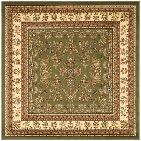 Square Area Rugs Safavieh Lyndhurst Ivory 8 Ft X 8 Ft Square Area Rug Lnh331c 8sq The Home Depot