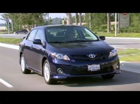 2011 toyota corolla review kelley blue book youtube